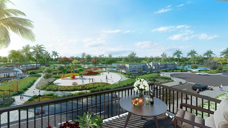 Nơi yên tĩnh thoáng mát nghỉ ngơi sau những ngày bộn bề công việc tại Biệt thự Park Riverside Premium