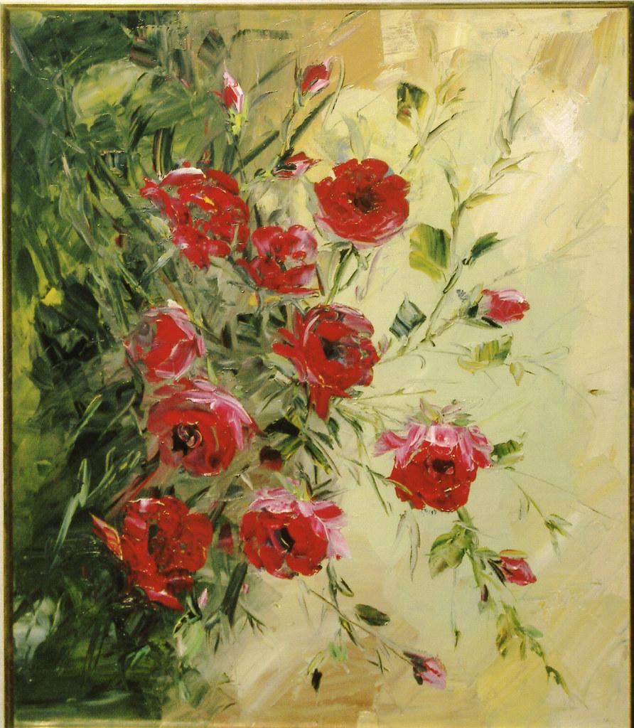 Wallpaper Pemandangan Taman Bunga