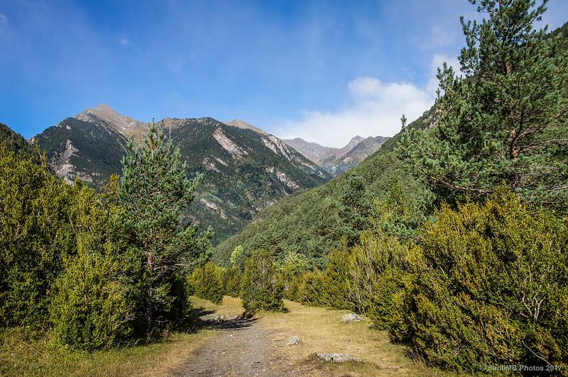 Valle del Sant Nicolau, en la Ruta de la Nutria
