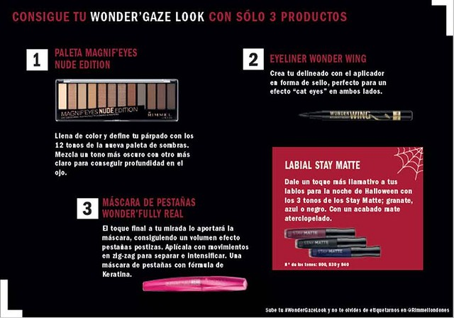 Rimmel London Wonder'Gaze Look