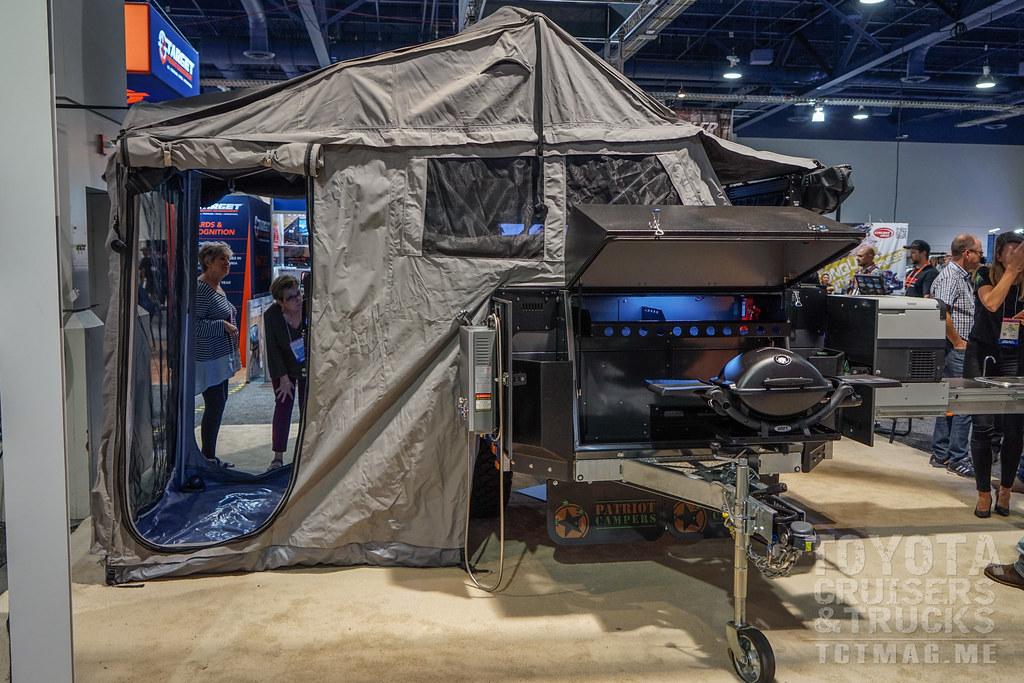 SEMA Show 2017 Part 2 Patriot Campers