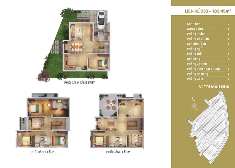 12 thiết kế mẫu nhà liên kế tại RioVista quận 9 9