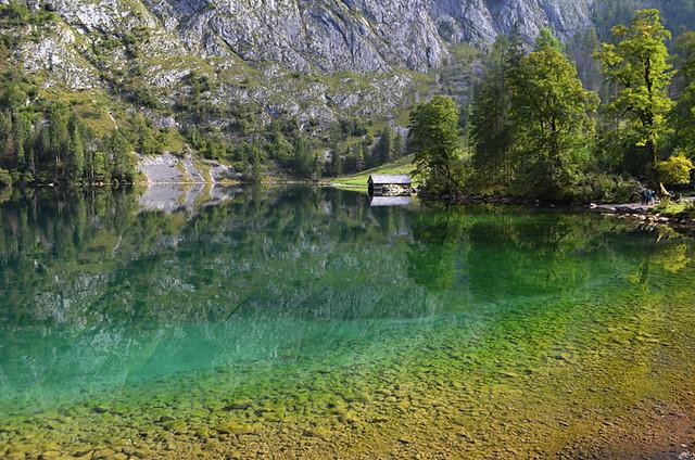 Lake Obersee, Konigssee, Bavaria