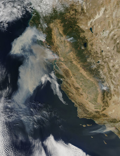NASA spies wildfires running amok in California | by NASA Goddard Photo and Video