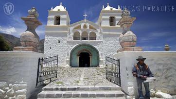 Iglesia en el Valle del Colca