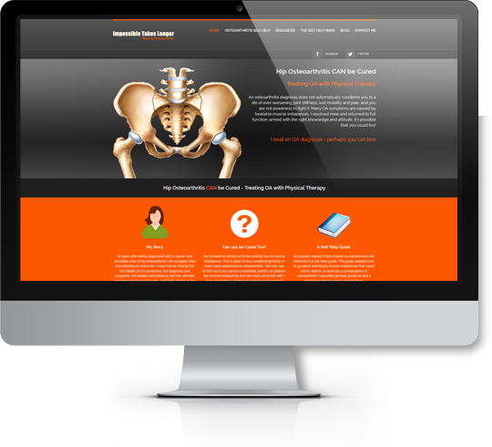 Visit the Impossible Takes Longer Web Site and Start Fighting Your Osteoarthritis