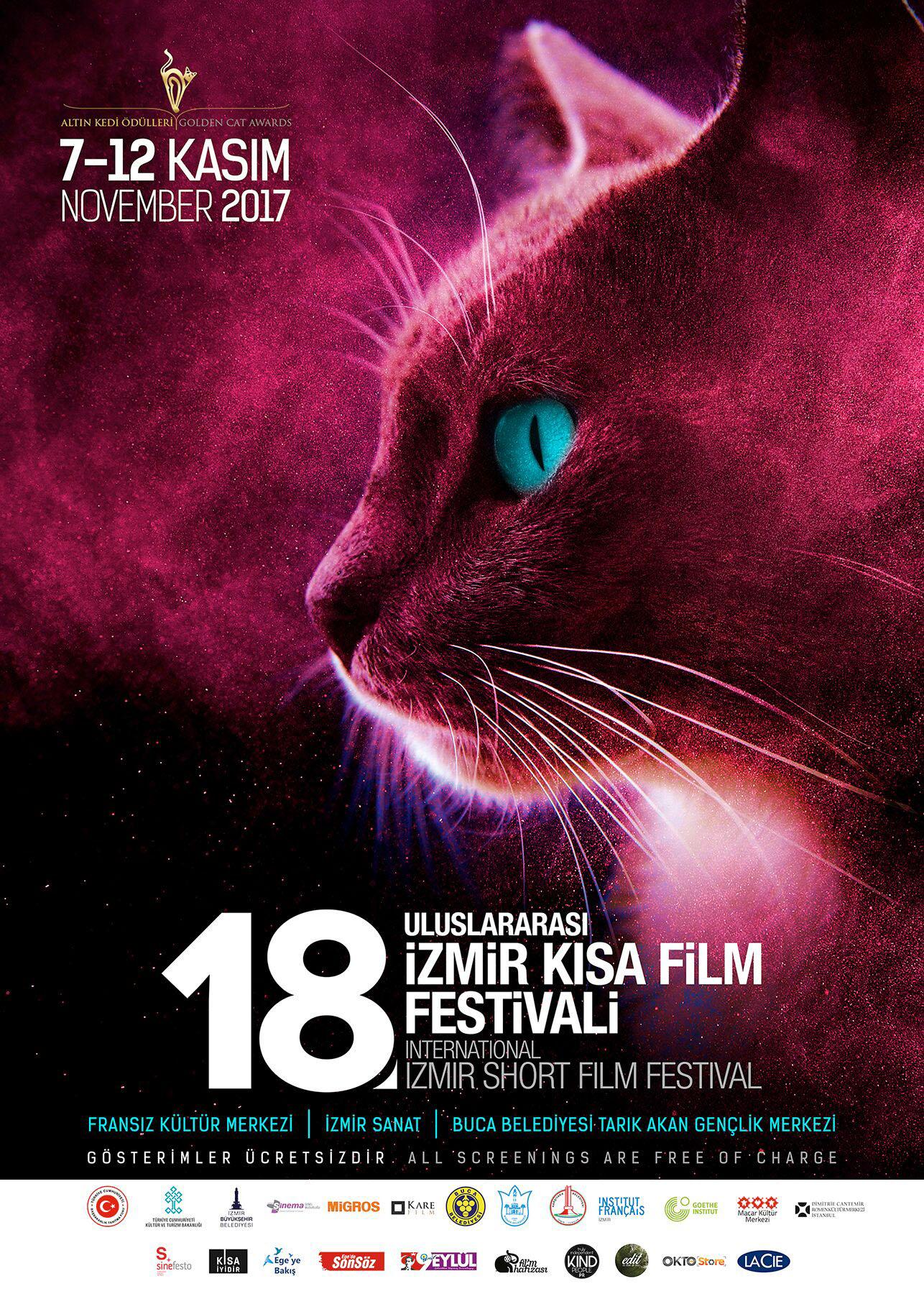 İzmir'de 18. Uluslararası Kısa Film Festivali ile ilgili görsel sonucu