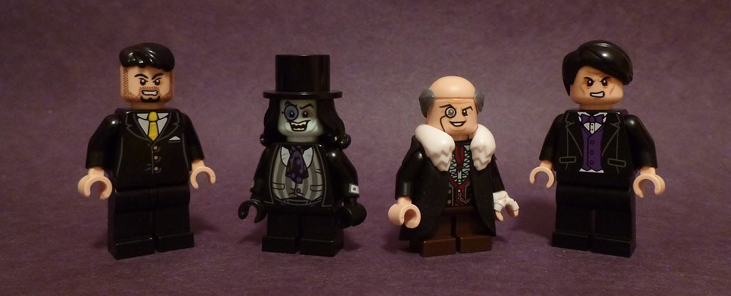 The Penguin | Just various versions of Oswald here in Lego