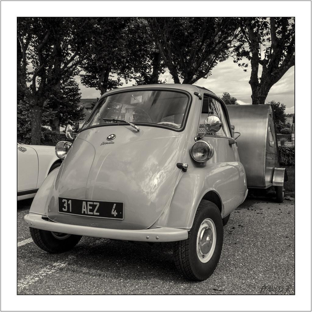 BMW Isetta (1955-1962) | Au lendemain de la seconde guerre m… | Flickr