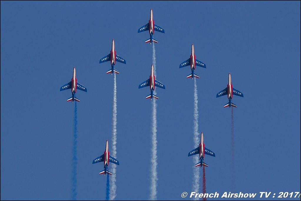 Patrouille de France , Avignon Airshow 2017