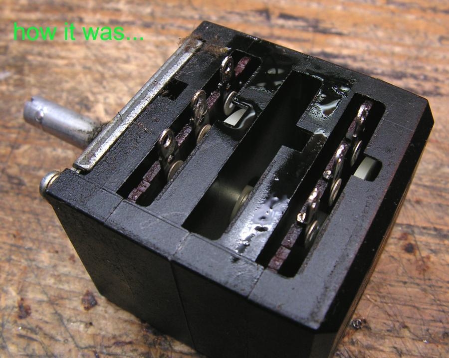 Sansui Vintage Audio Parts   Alps Rk40 100k For Sansui