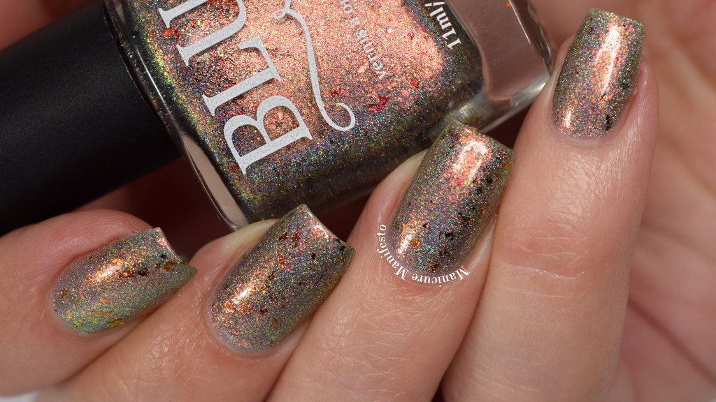 Blush Lacquers Frosted Foliage Swatch
