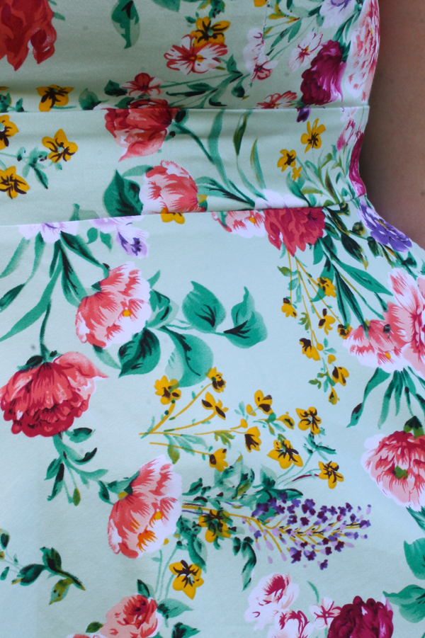 pastel floral print