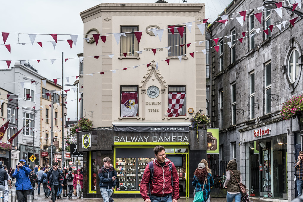 DUBLIN TIME IN GALWAY