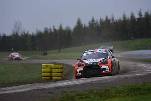 Warren Scott, Citroën DS3, British Rallycross Championship - British Rallycross Grand Prix, Croft 2017