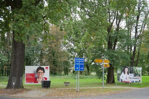 Wahlplakate zur Bundestagswahl #4