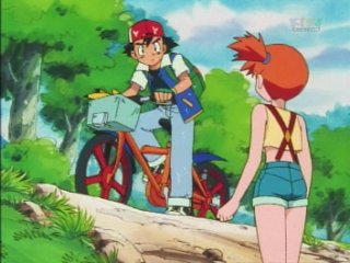 ash steals bike