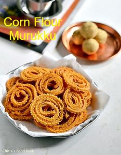 Corn flour murukku
