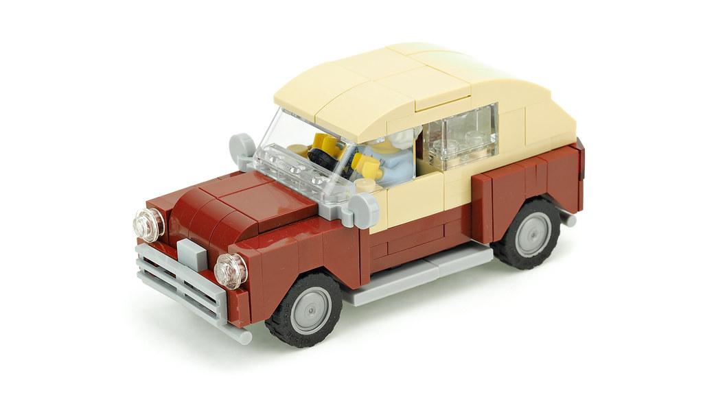 Dark Red Vintage Car Building Instructions Youtube De Marco Flickr