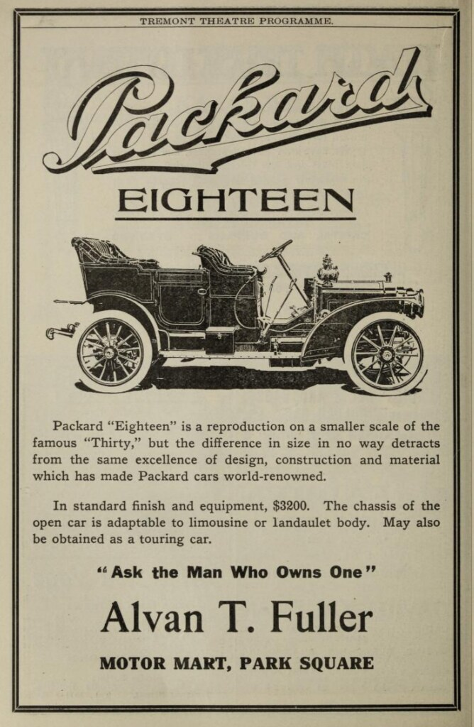 Vintage Advert for the Packard Eighteen Automobile 1908   Flickr