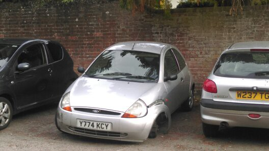 Ford Ka Silver By Old Surrey Cars