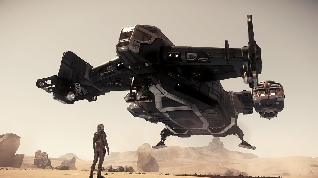 Star Citizen: Touching Down | In-game screenshot from Star ...