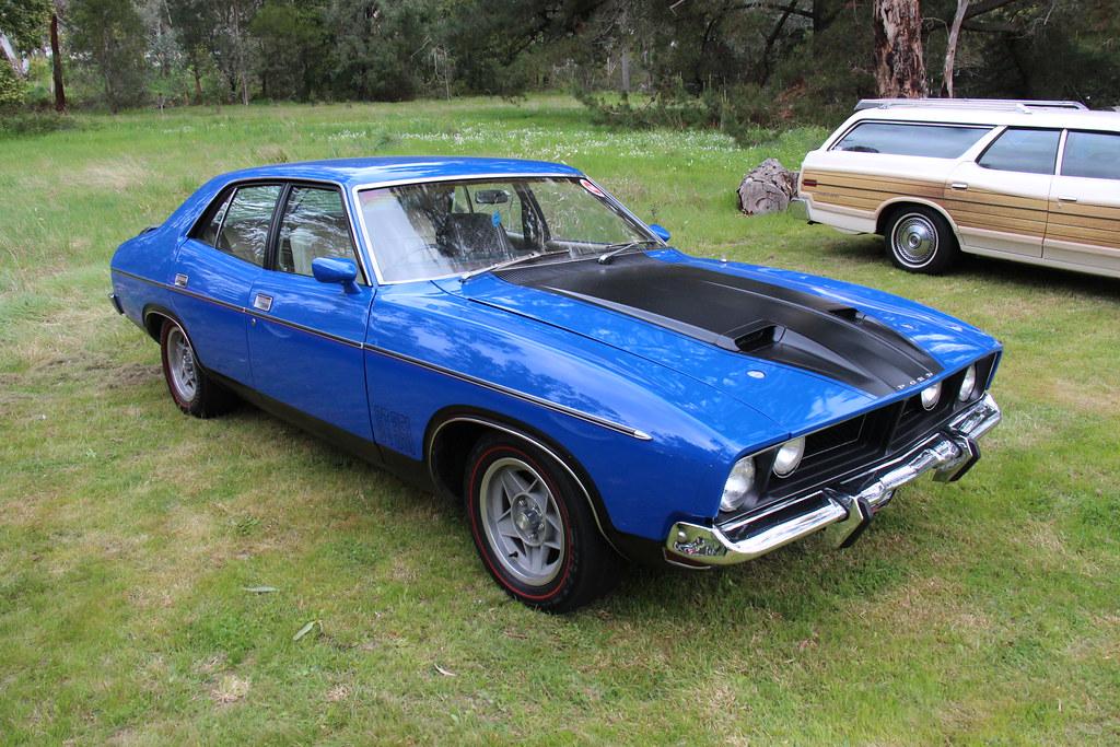 1974 Ford Xb Falcon Gt Sedan Corporate Blue The Xb