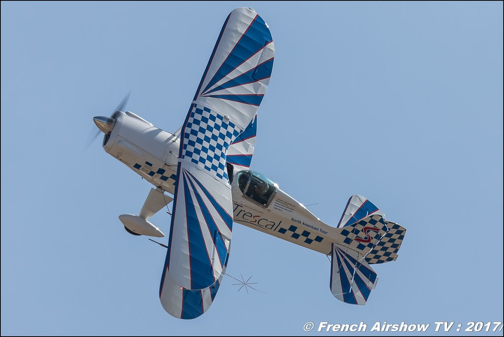 STARDUSTER SA300 – TRESCAL , F-PFJP , Avignon Airshow 2017