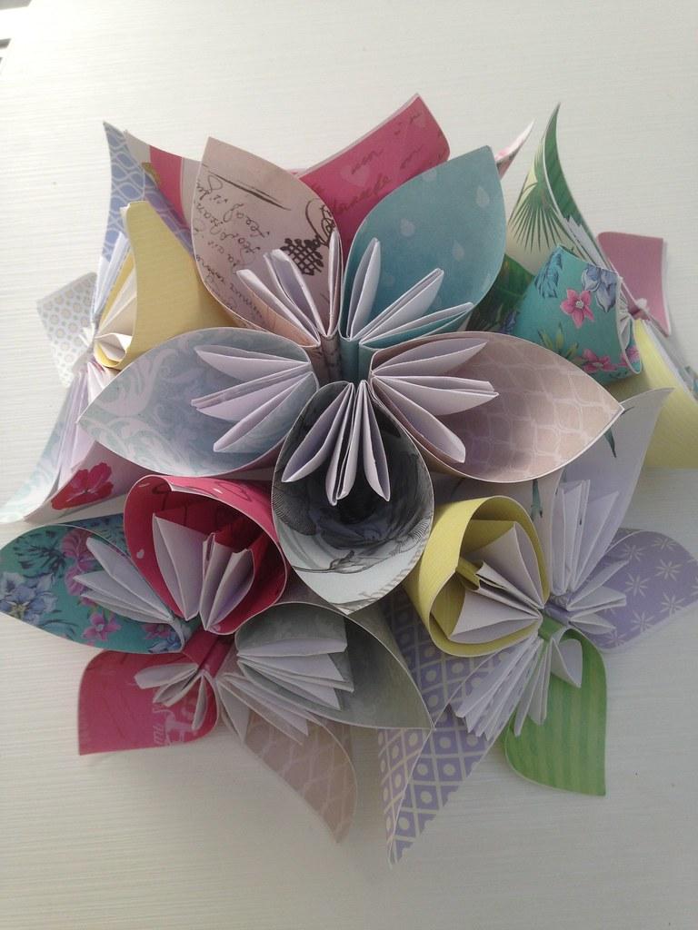 Kusudama Origami Flowers Kusudama Flower Origami Flickr