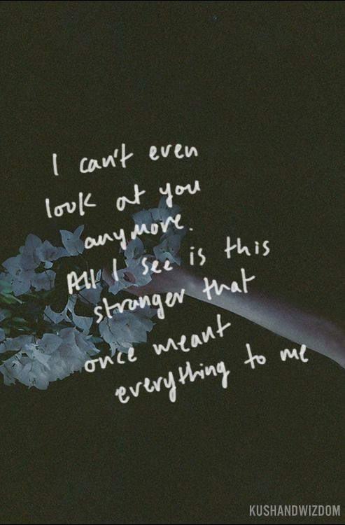 Sad Love Quotes Because I Don39t Know You Anymore I Flickr