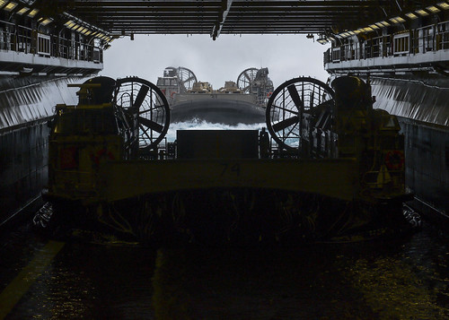 SAN DIEGO – Expeditionary Strike Group (ESG) 3 and 1st Marine Expeditionary Brigade (MEB) kicked off amphibious exercise Dawn Blitz 2017, Oct. 20.