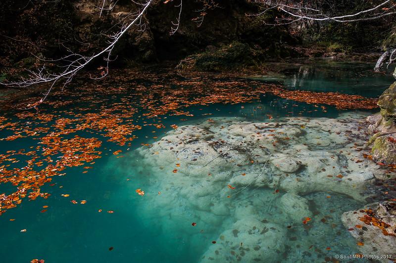 Poza del Arenal del río Urederra
