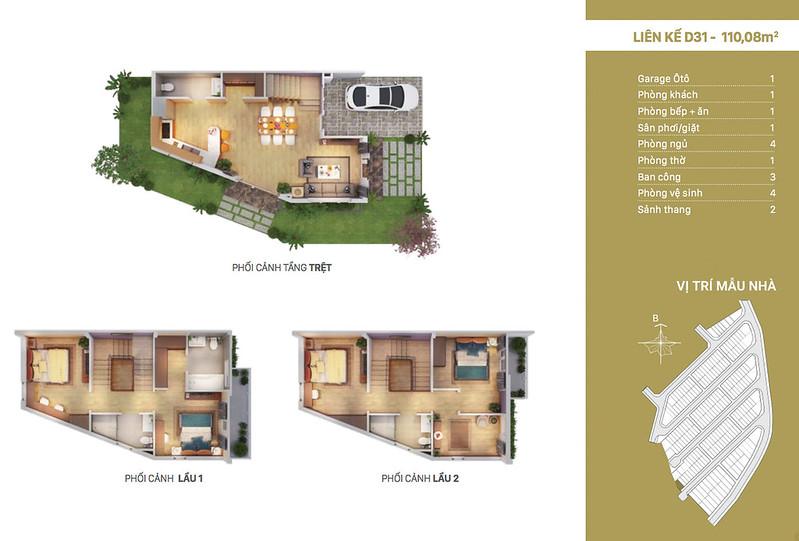 12 thiết kế mẫu nhà liên kế tại RioVista quận 9 26