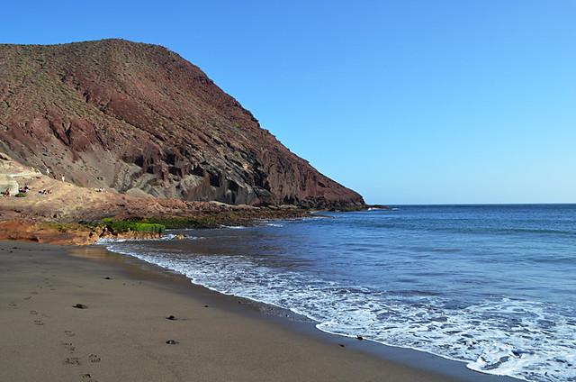 Montaña Roja, El Medano,Tenerife
