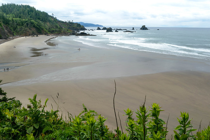 Indian Beach - Ecola State Park - Costa del Pacífico - Oregon