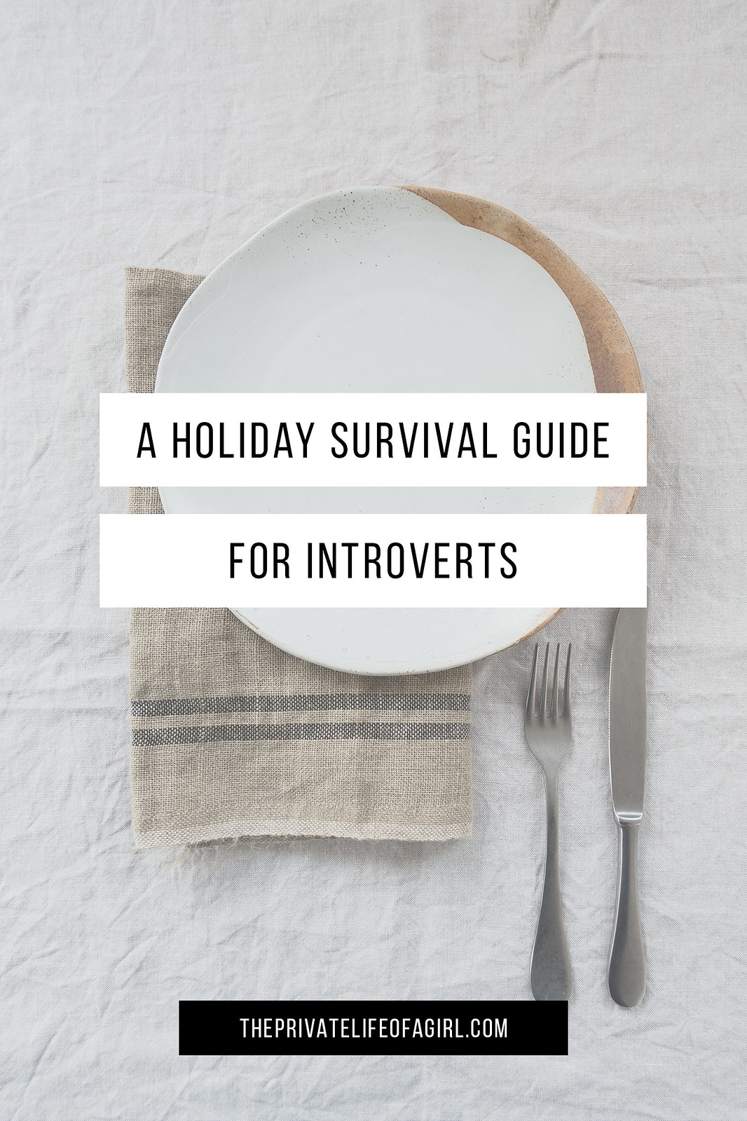 A Holiday Survival Guide (For Introverts)