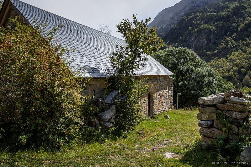 Ermita de Sant Nicolau en Aigüestortes