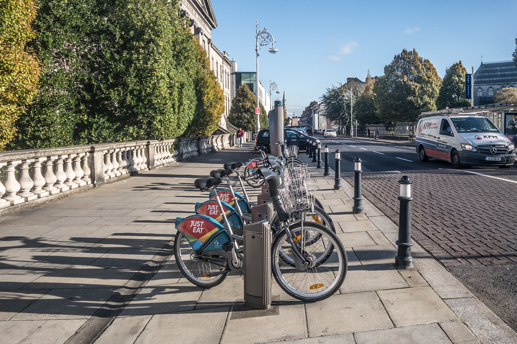 DUBLINBIKE DOCKING STATION ON ECCLES STREET
