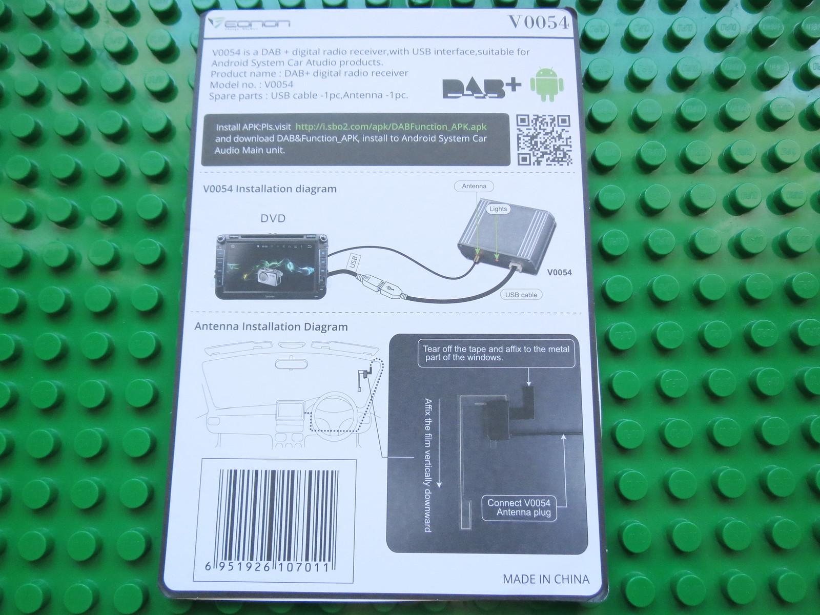 Unboxing Eonon V0054 Dab Digital Audio Broadcasting Box Flickr Wiring Diagram