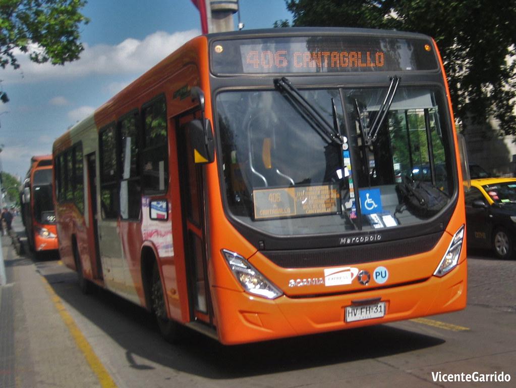 TS Express de Santiago (406) | Marcopolo Torino Low Entry … | Flickr