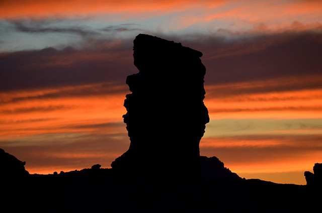 Sunset in Teide National Park, Tenerife