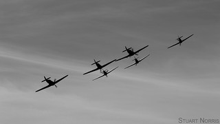 Hawker Hurricane Formation - Duxford Battle of Britain air show 2017 | by stu norris