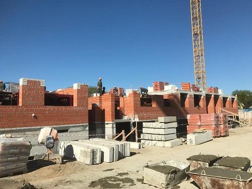 Ход строительства ЖК Витязь