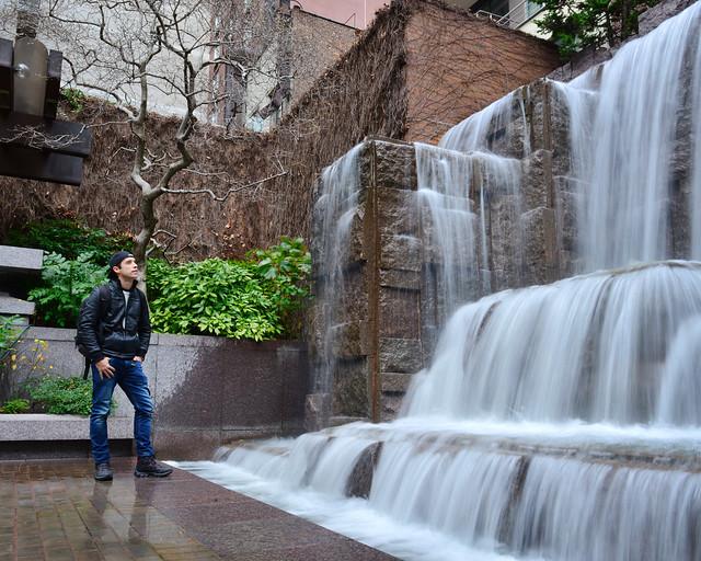 Una ed las cascadas del Nueva York secreto, de las mejores rutas por Nueva York que se pueden hacer