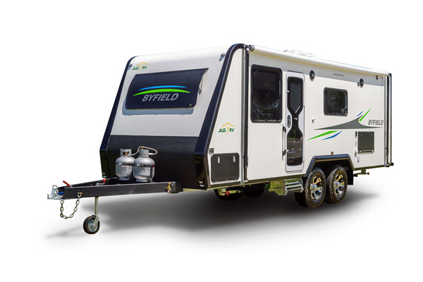 Byfield 22-01-AT Front Door All Terrain Caravan