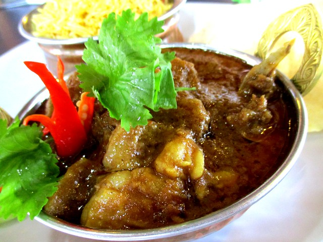 Cafe Ind lamb/mutton curry