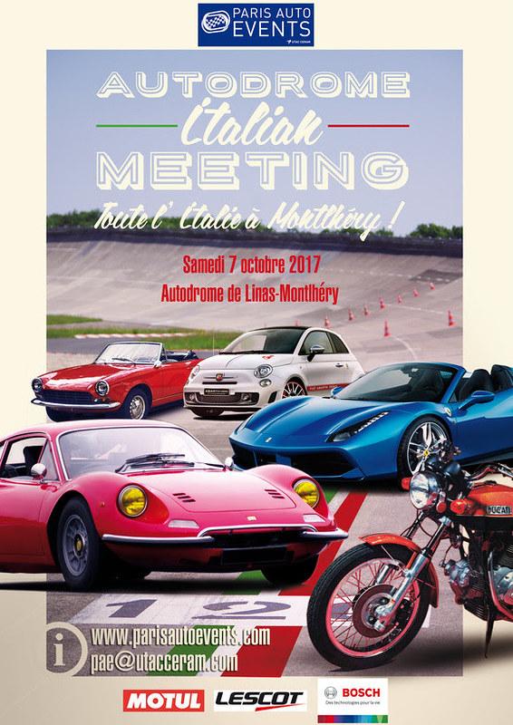 Autodrome Italian Meeting Montlhery Samedi 07 Octobre 2017 37475115112_4f40639649_c
