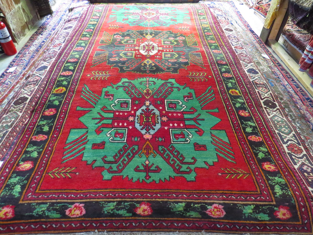 Karabagh Hand Knotted Rug Carpetbeggers Persian Rugs In