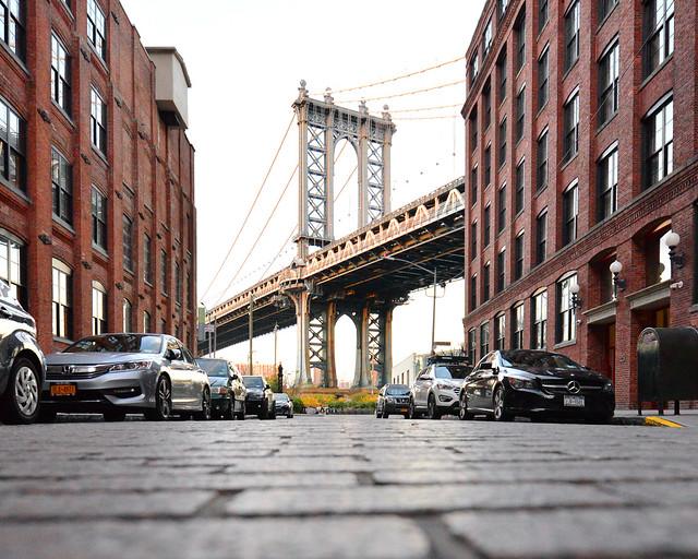Washington Street, una de las paradas de nuestra ruta a pie por Nueva York buscando los mejores lugares para hacer fotos