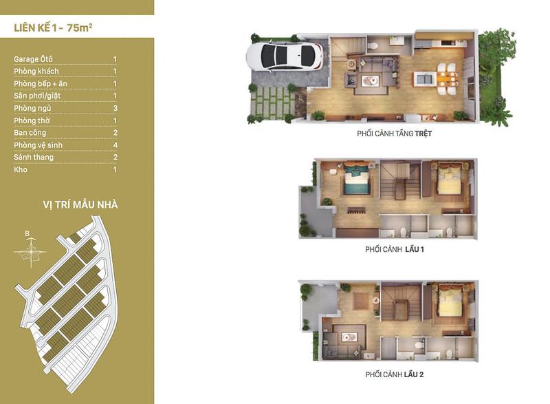 12 thiết kế mẫu nhà liên kế tại RioVista quận 9 14